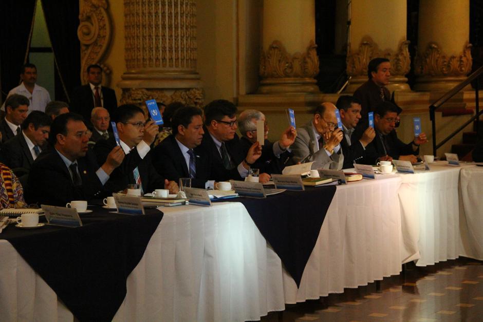 La Conasan aprobó el plan de trabajo para los próximos cuatro años y se contempla un gasto de 30 mil millones de quetzales. (Foto: Alexis Batres/Soy502)