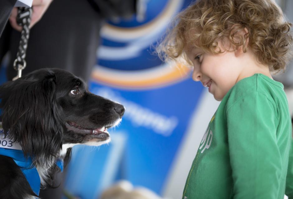 Los niños también están invitados a correr con su mascota. (Foto: George Rojas/Soy502)