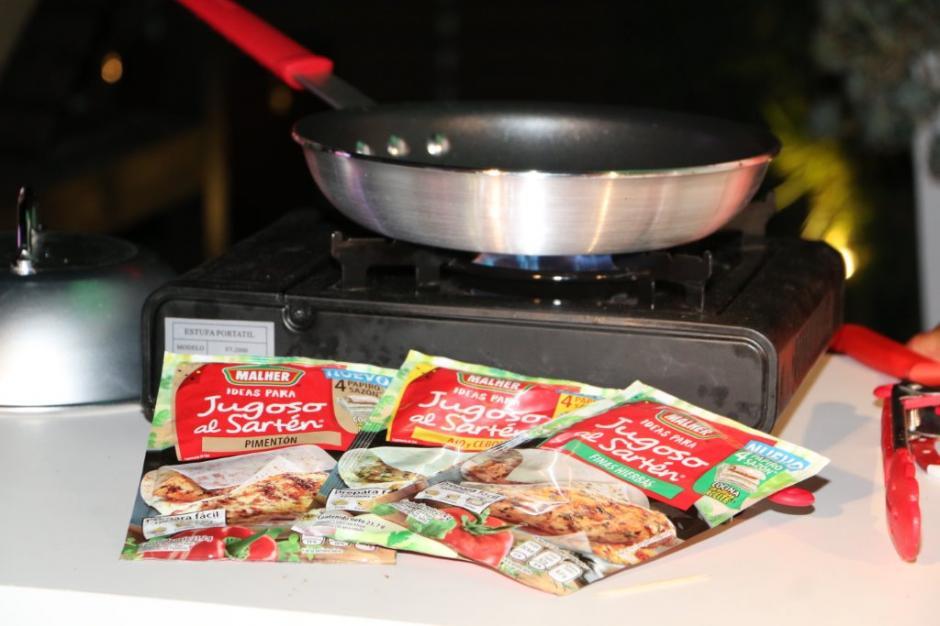 Ajo y cebolla, pimentón y finas hierbas son las variedades que ofrece este innovador producto. (Foto: cortesía Malher)