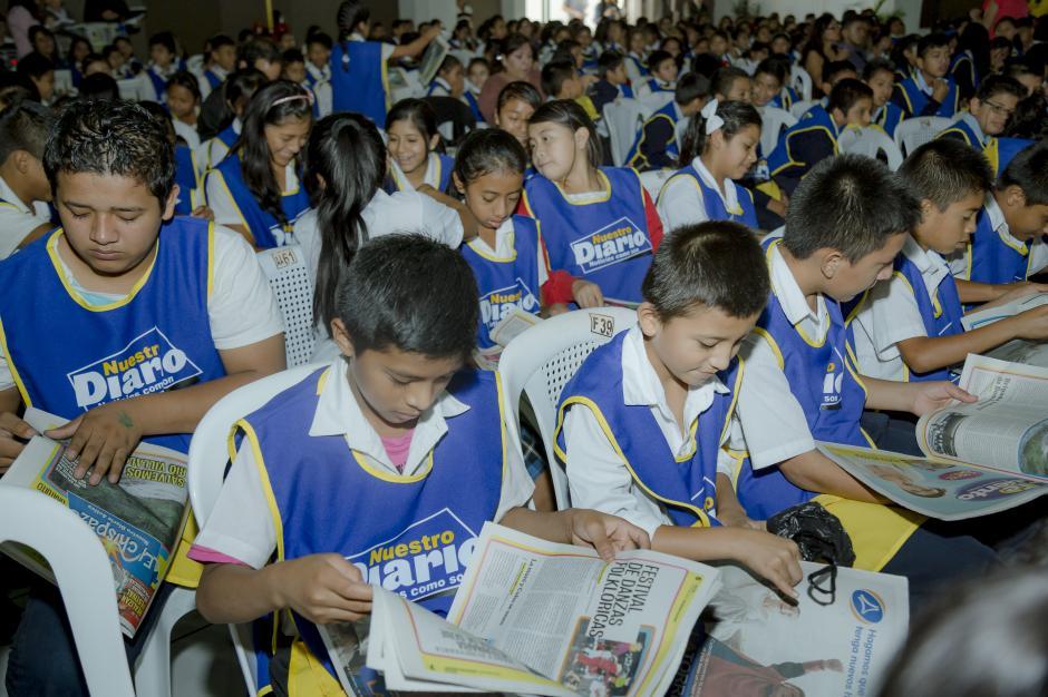 Niños de distintos colegios pudieron disfrutar del contenido de El Chispazo. (Foto: George Rojas/Soy502)