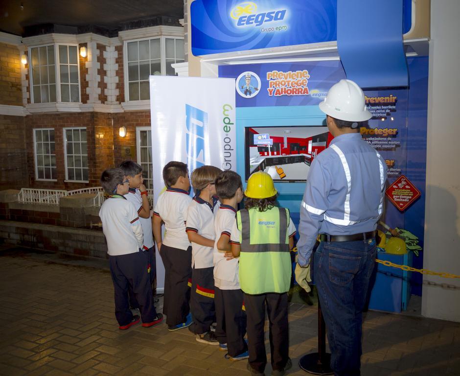 Tres videojuegos educativos estarán a la disposición de los niños en la ciudad a escala.(Foto: George Rojas/Soy502)