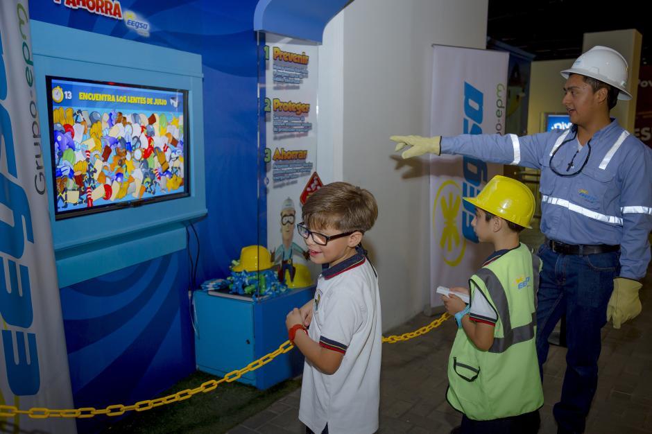 La experiencia en la atracción educativa es guiada, para asegurar que los niños aprendan de forma divertida. (Foto: George Rojas/Soy502)