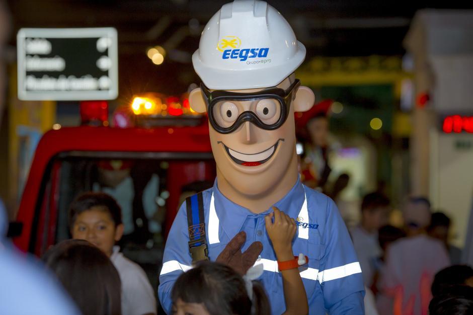 EEGSA y su divertivo personaje Julito harán que los niños aprendan sobre el consumo adecuado de la energía eléctrica.(Foto: George Rojas/Soy502)