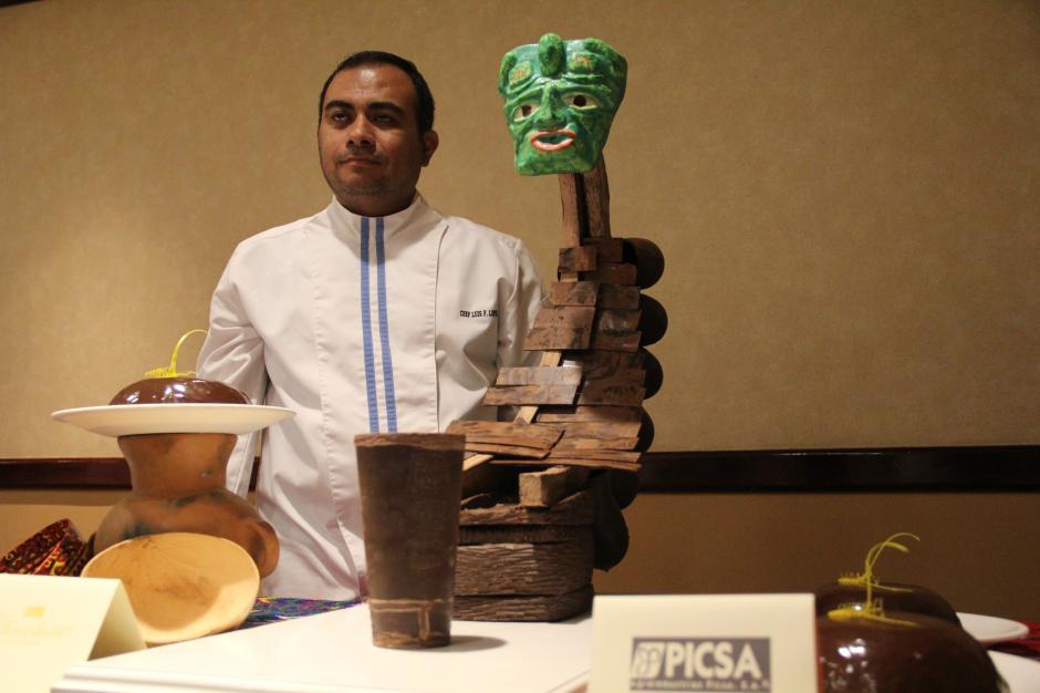 Las esculturas eran alusivas a la cultura guatemalteca, como la Marimba y la cultura Maya. (Foto: Alexis Batres/Soy502)