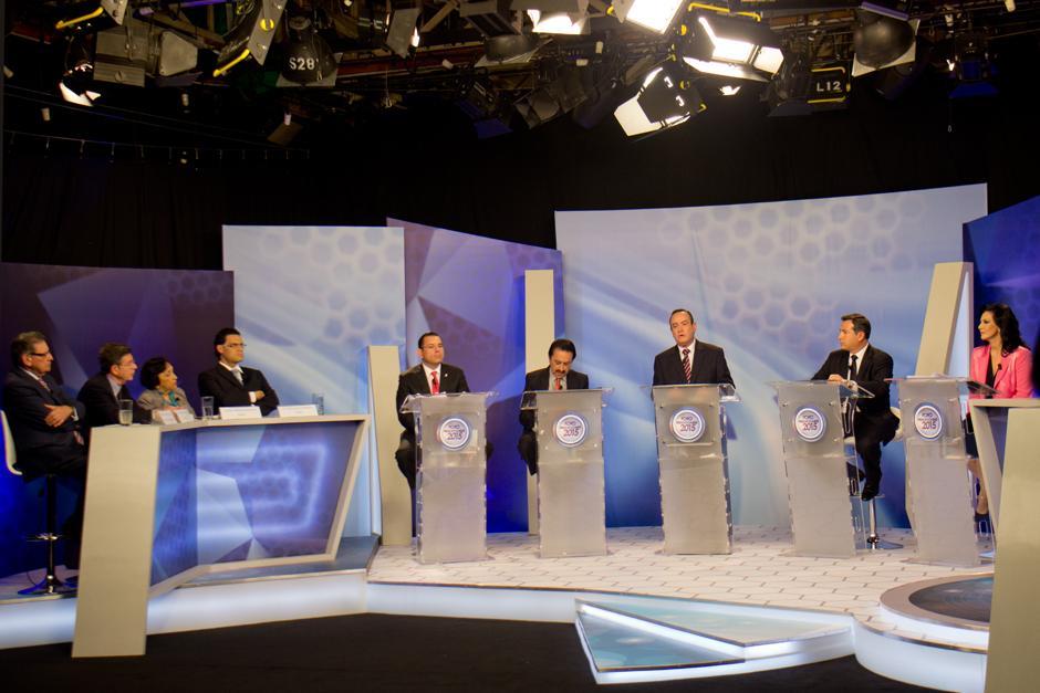 Hoy se transmitió el primer Foro Presidenciables 2015 en el cual se entrevistaron a los primeros cinco candidatos. (Foto: Alejandro Balán/Soy502)