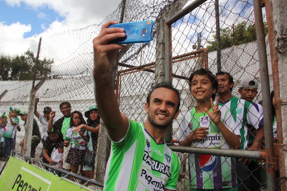 José Manuel Contreras debutó en el torneo Clausura 2017 con su nuevo equipo, Antigua GFC. (Foto: Fredy Hernández/Soy502)