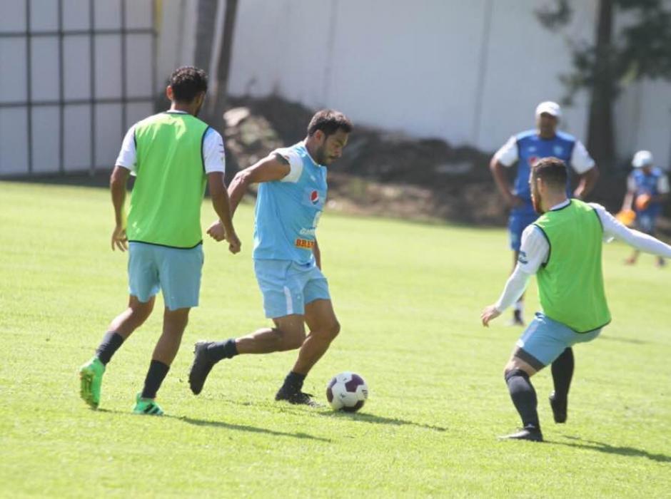 Carlos Ruiz sigue siendo uno de los máximos referentes de la Selección. (Foto: Luis Barrios/Soy502)