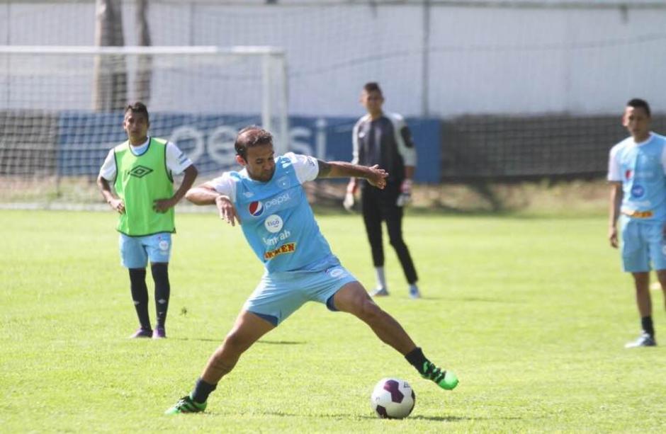 """José """"El Moyo"""" Contreras regresa a la selección tras superar una lesión. (Foto: Luis Barrios/Soy502)"""