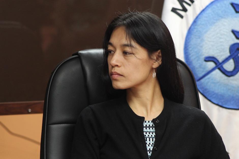 Lucrecia Hernández Mack fue juramentada como ministra la semana pasada. (Foto: Alejandro Balán/Soy502)