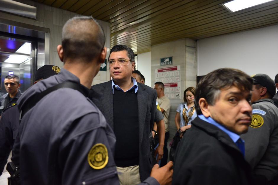 Tras su primera noche en el Preventivo de la Zona 18, Martínez pidió que se le traslade a una cárcel militar, en caso se le envía a prisión preventiva. (Foto Jesús Alfonso/Soy502)