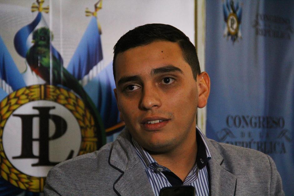 El diputado Juan Manuel Giordano fue reelecto para la próxima legislatura: (Foto: Soy502)