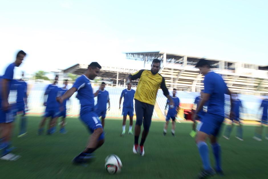 La Bicolor hizo su última práctica antes de enfrentar a Trinidad y Tobago en Puerto España. (Foto: Luis Barrios/Soy502)