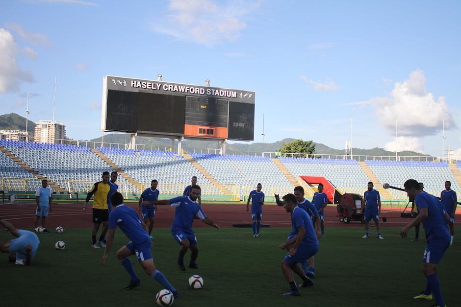 Los guatemaltecos saben cómo se le debe jugar a Trinidad. (Foto: Luis Barrios/Soy502)