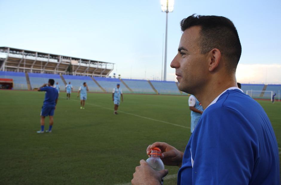 Marco Pappa espera ser uno de los guías de la Bicolor. (Foto: Luis Barrios/Soy502)