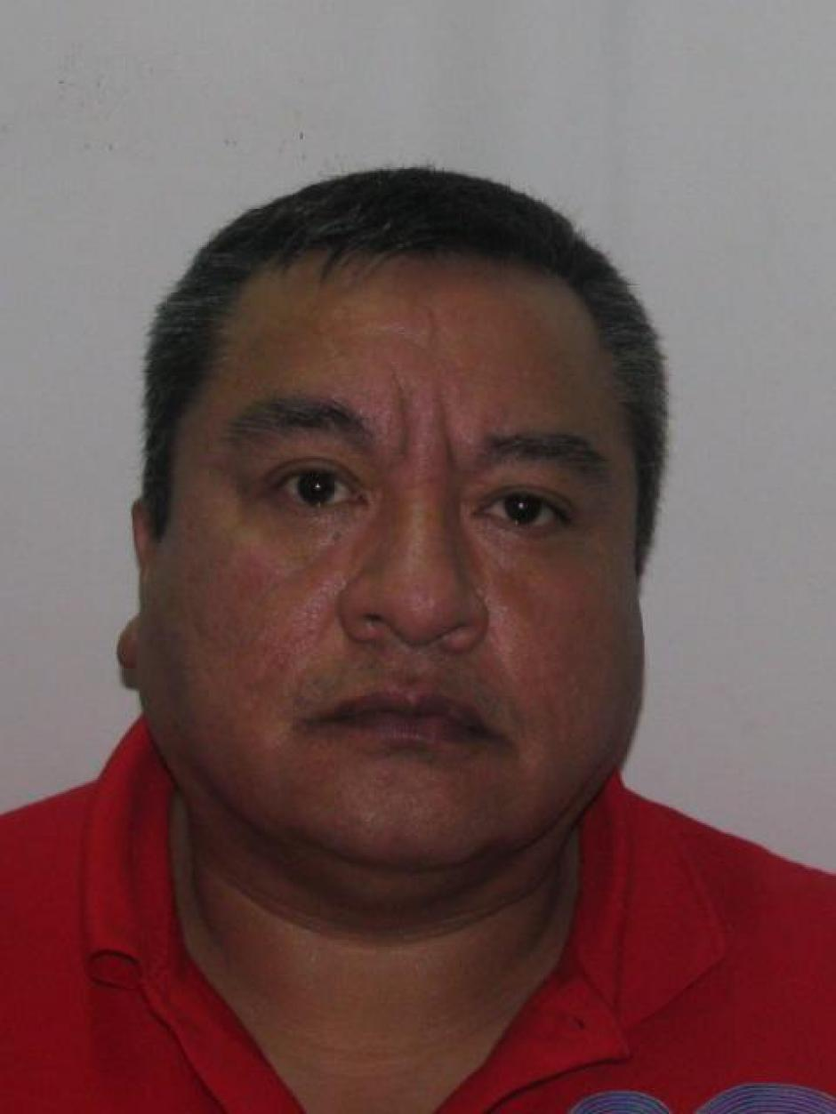 """Raúl Arturo Contreras Chávez, alias """"Calaca"""", intentó huir arrollando a un agente de la unidad GRILL. (Foto: PNC)"""