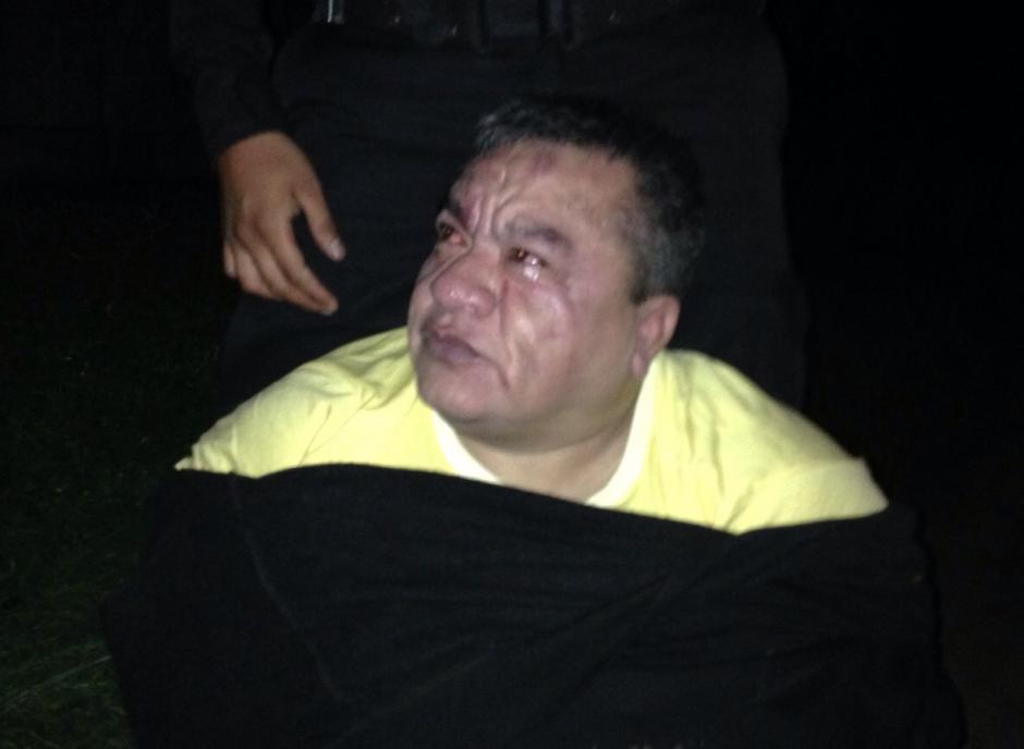 """Raúl Arturo Contreras Chávez, alias """"Calaca"""" fue capturado en Ciudad San Cristobal. (Foto: PNC)"""