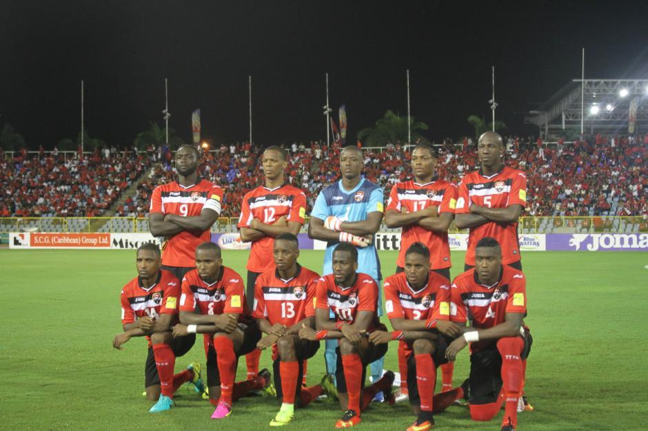 Esta es la formación inicial de Trinidad y Tobago. (Foto: Luis Barrios/Soy502)