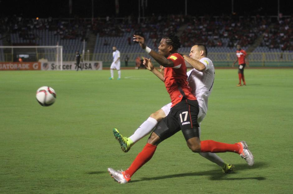 Trinidad y Tobago acabó de nuevo con el sueño mundialista. (Foto: Luis Barrios/Soy502)