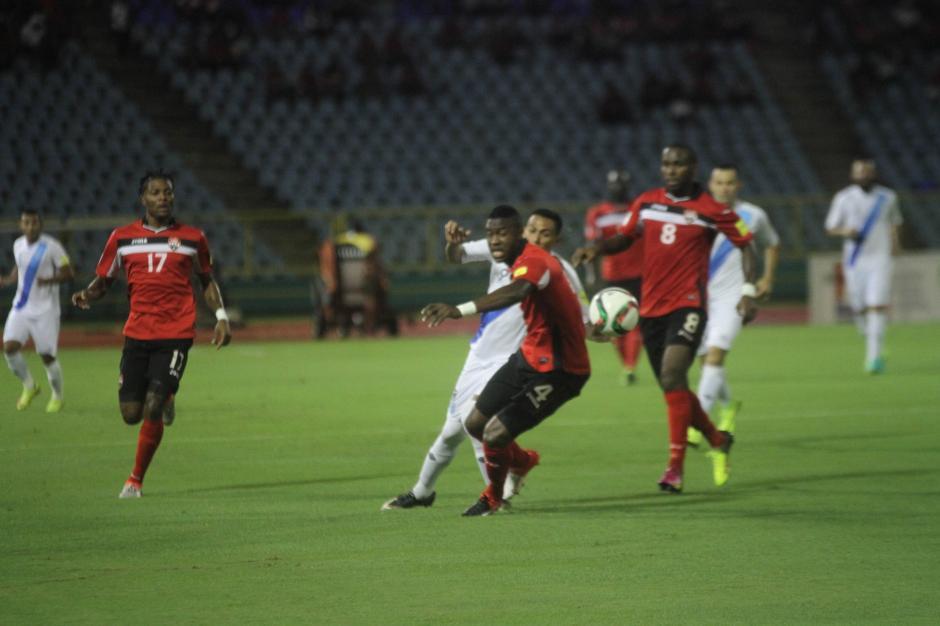 Con dos goles se llevaron el empate en su casa. (Foto: Luis Barrios/Soy502)