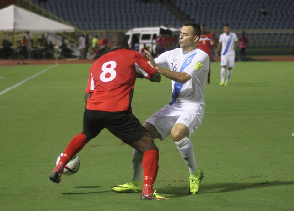 El equipo Nacional fue más en el primer tiempo. (Foto: Luis Barrios/Soy502)