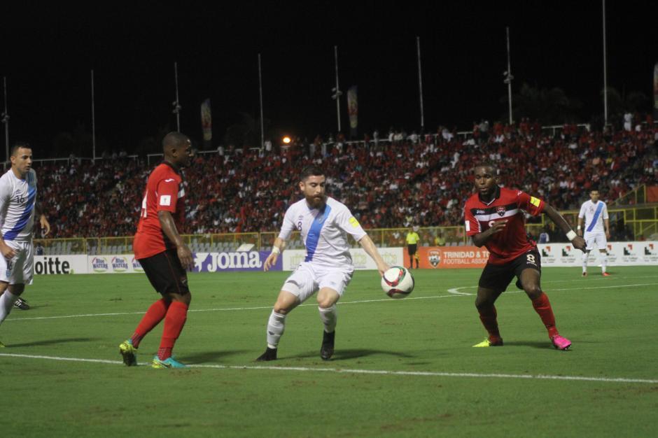 El equipo Nacional necesita terminar el partido con la victoria. (Foto: Luis Barrios/Soy502)
