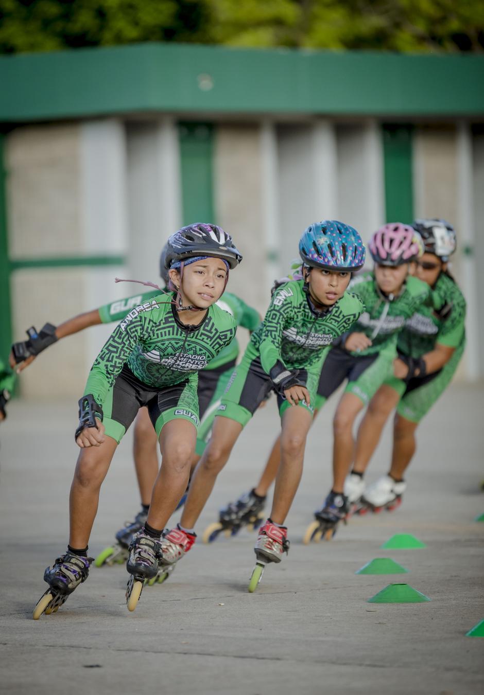 Las clases de patinaje están abiertas para niños de 6 a 15 años. (Foto: George Rojas/Soy502)