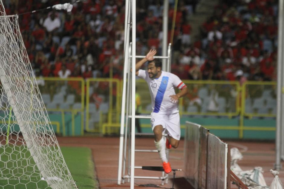 """Aunque El """"Pescado"""" Ruiz anotó un gol no fue suficiente. (Foto: Luis Barrios/Soy502)"""