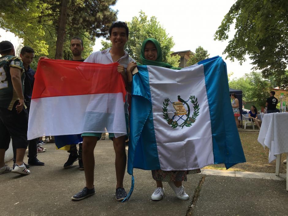 Rodrigo es un joven guatemalteco que viajó a Rumania para realizar un voluntariado de dos meses. (Foto: Rodrigo Morales)