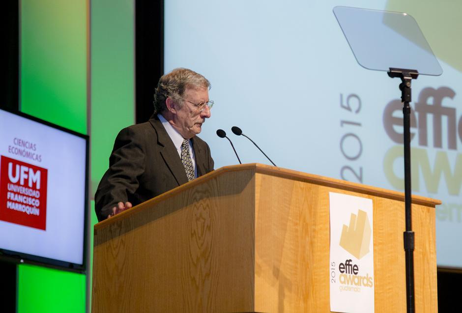 Juan Carlos Florido, presidente del jurado calificador de los premios Effie Awards 2015.(Foto: George Rojas/Soy502)