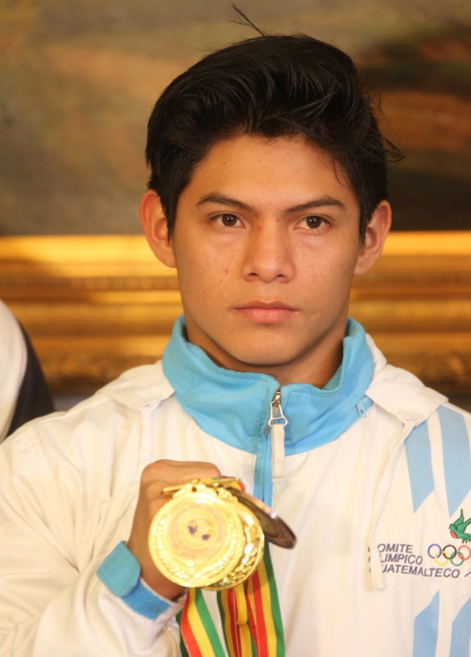 Vega es multicampeón panamericano de gimnasia. (Foto: Luis Barrios/Soy502)