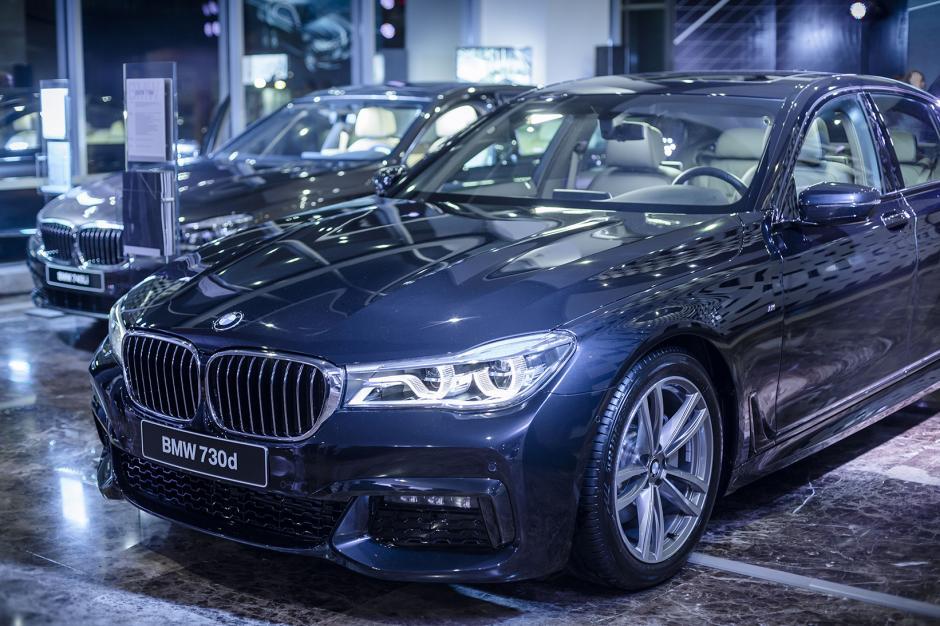 BMW y Excel Automotriz presentaron el nuevo BMW Serie 7, disponible ya en salas de venta. (Foto: George Rojas /Soy502)