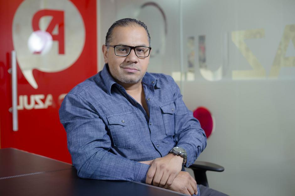 Sergio Marroquín, gerente general de Red Azul. (Foto: George Rojas/ Soy502)