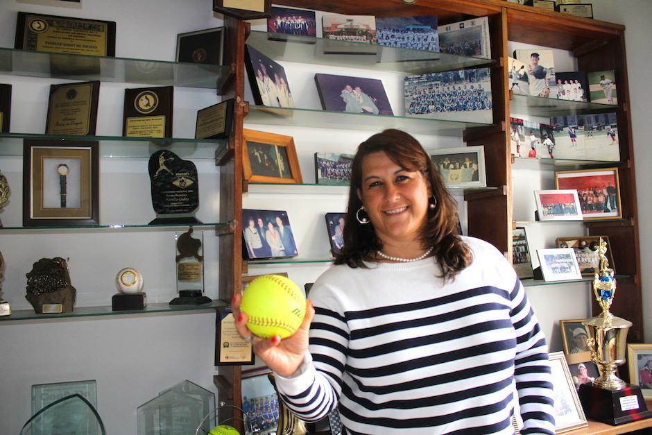 Patty Godoy, es la lanzadora más exitosa de la historia del softbol guatemalteco. (Foto: Luis Barrios/Soy502)