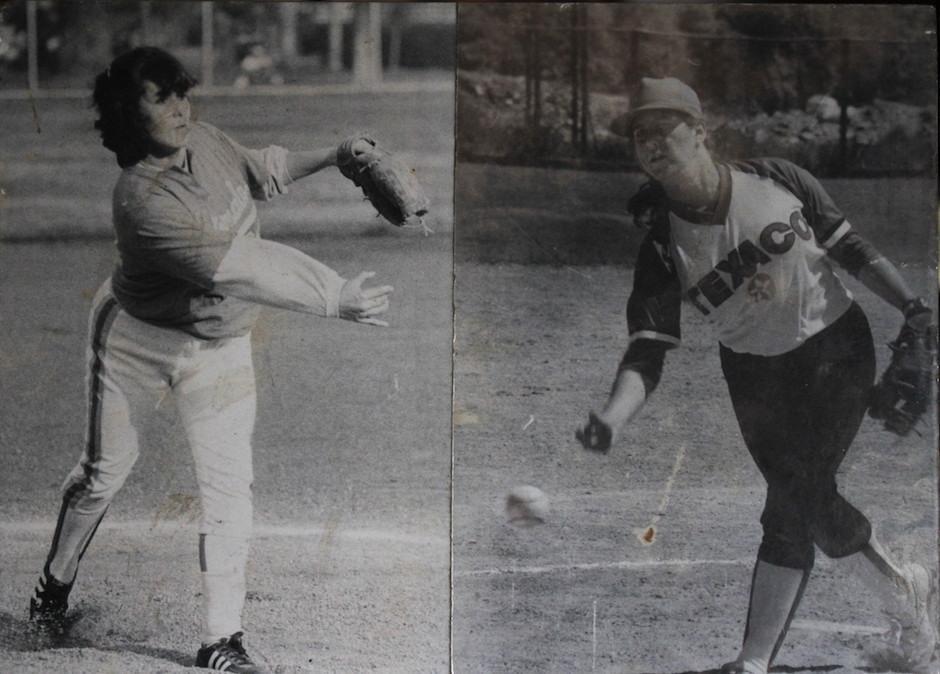 Texaco fue el primer equipo de Patty Godoy en la Liga Mayor de softbol femenino. (Foto: Luis Barrios/Soy502)