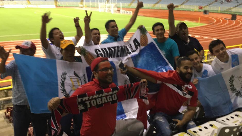 La afición guatemalteca no falla a las citas con el fútbol. (Foto: Luis Barrios/Soy502)