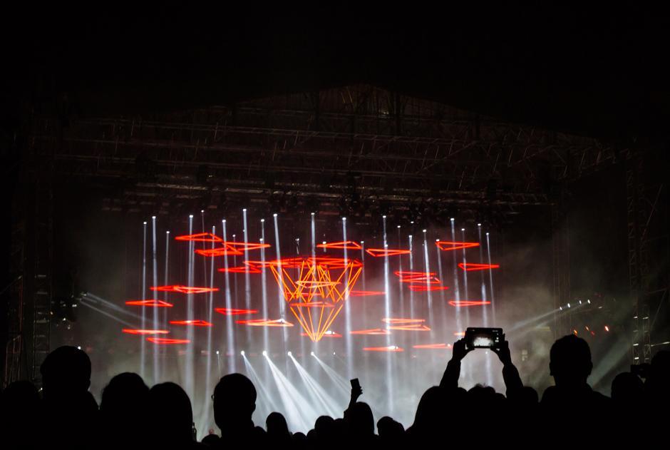 La escenografía y la acústica del espectáculo llenó las expectativas del público. (Foto: Eddie Lara/Soy502)