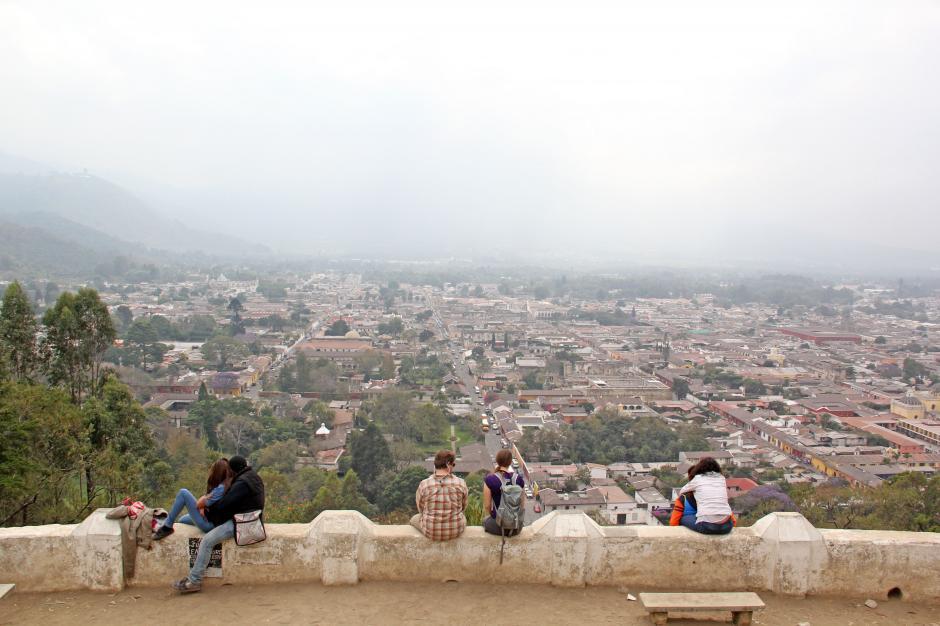 Antigua Guatemala es uno de los sitios predilectos por los guatemaltecos para ir de paseo durante los asuetos