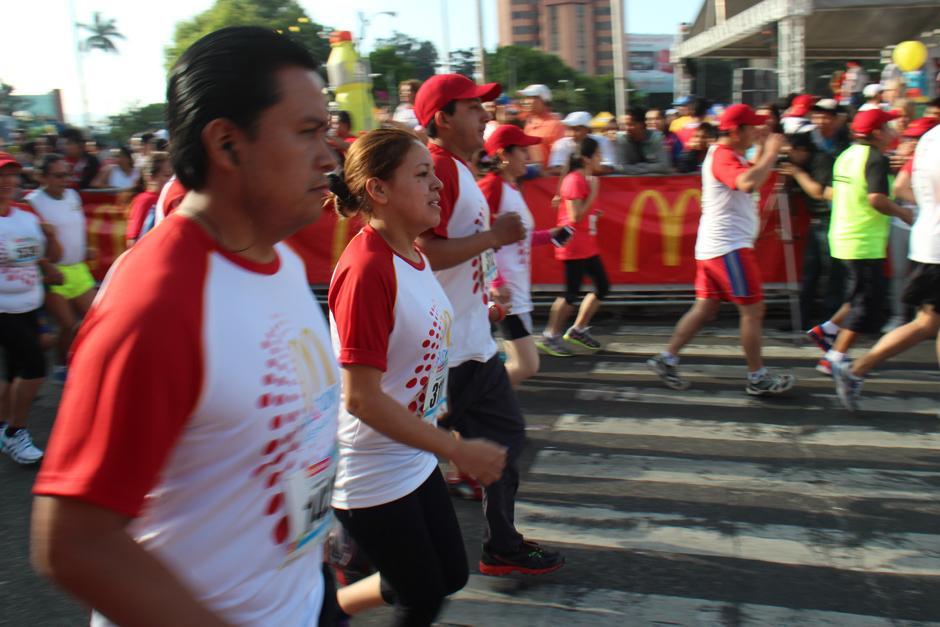 La carrera sirvió para promover la actividad física. (Foto: José Dávila/Soy502)