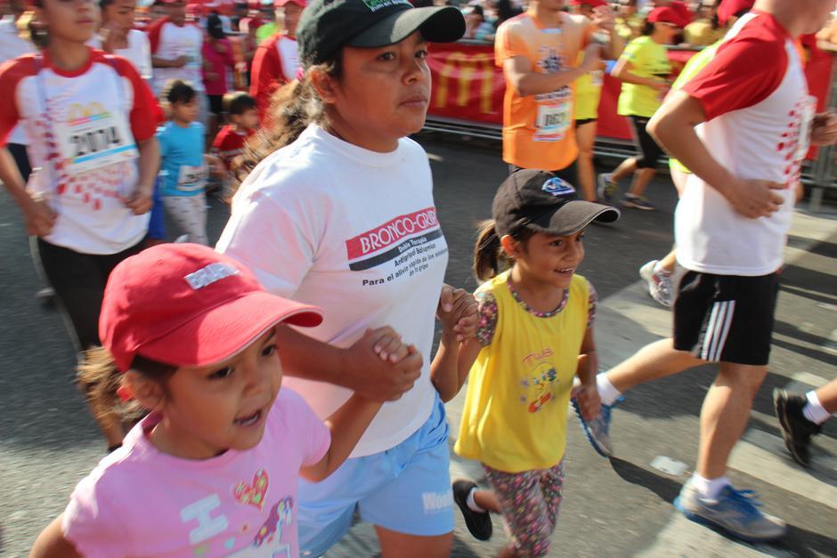 La carrera no tuvo un límite de edad. (Foto: José Dávila/Soy502)