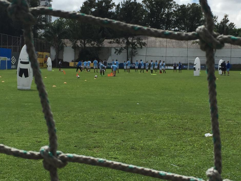 La Azul y Blanco entrenó este jueves a puerta cerrada de la mano de Iván Franco Sopegno
