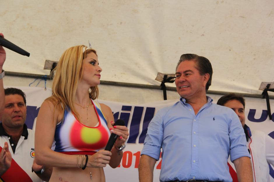 Mario Estrada aprovecha la estrategia para garantizar el público en sus actividades. (Foto: Roberto Caubilla/Soy502)
