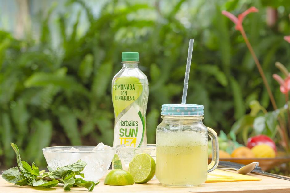 Smoothie de limonada con hierbabuena y un toque de limón, ¡para chuparse los dedos! (Foto: George Rojas/Soy502)
