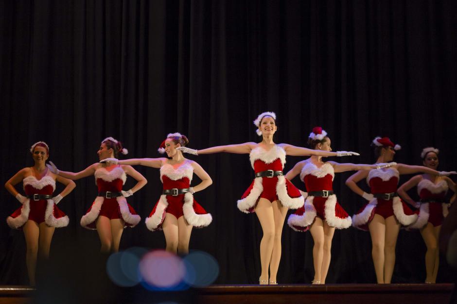 Dieciséis bailarinas mostrarán su talento en distintas coreografías de talla internacional. (Foto: George Rojas /Soy502)