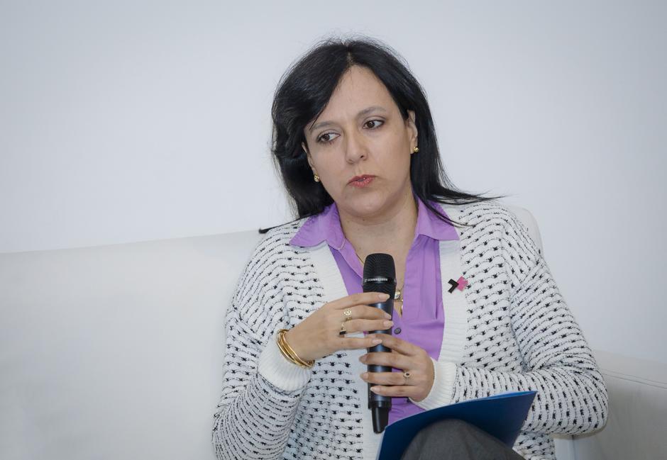 María Machicado, representante ONU Mujeres, explicó cuál es la situación de las mujeres en Guatemala. (Foto: George Rojas/Soy502)