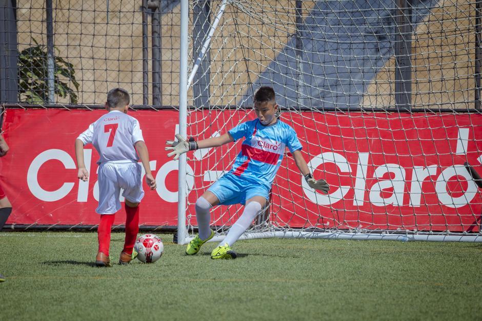 La categoría de 11 a 12 años también disputó su final en Futeca Cayalá. (Foto: George Rojas /Soy502)