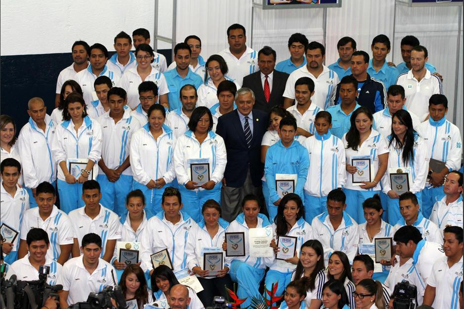 Premiación atletas, Juegos Bolivarianos, medallistas