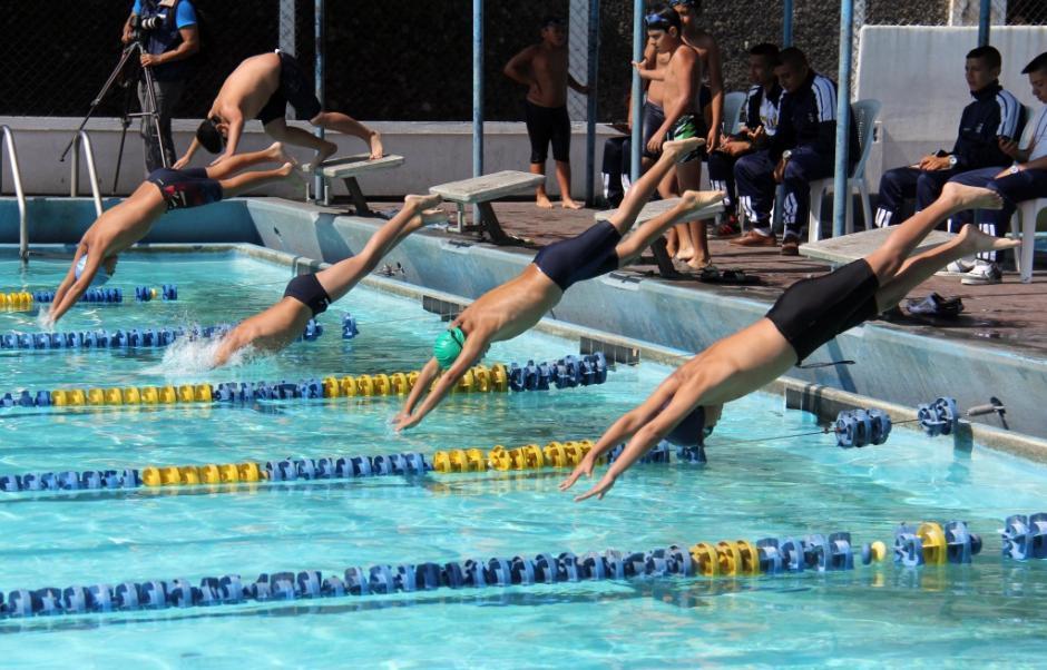 La piscina de la Federación de Natación en la zona 5 también es pública. (Foto: Twitter)