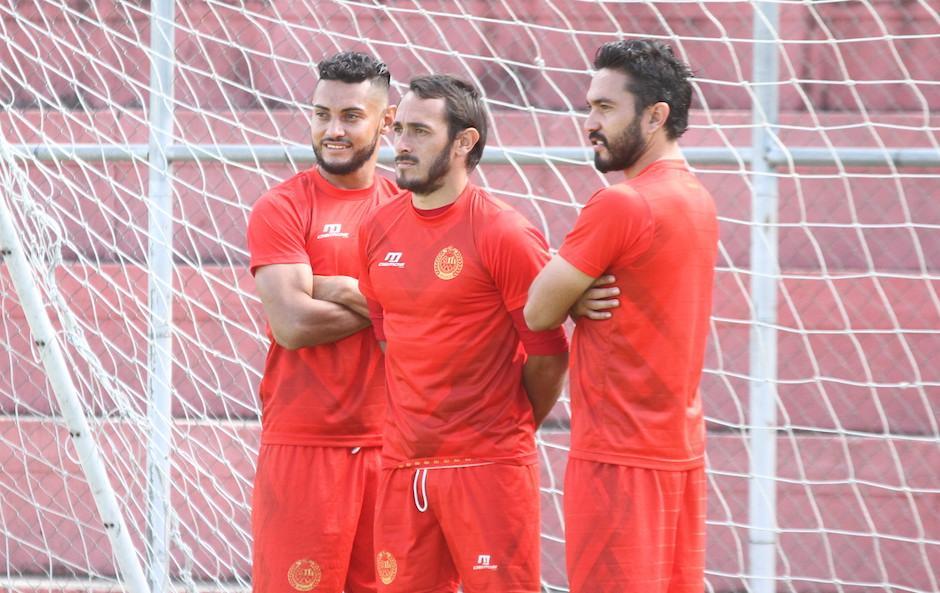 Guerra sumó 14 goles en su primer torneo con los Rojos.  (Foto: Luis Barrios/Soy502)