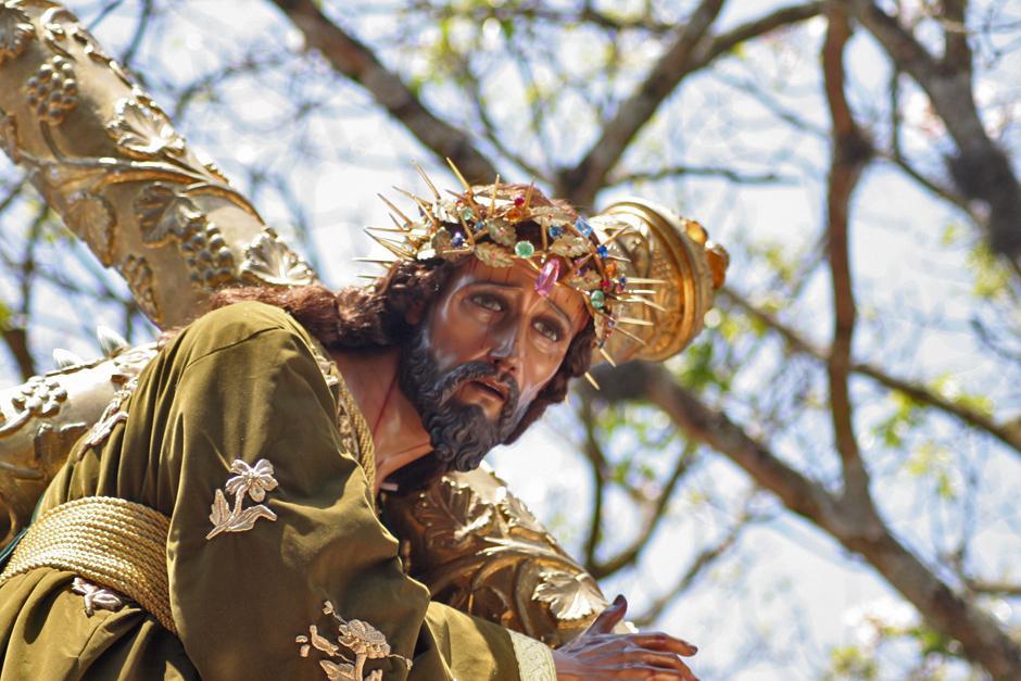 El Nazareno recoleto fue consagrado en 1956 por Fray Celestino Fernandez, convirtiéndose así, en la tercera Imagen de Jesús Nazareno consagrada en tierras guatemaltecas. (Foto: Raúl Illescas/Especial para Soy502)