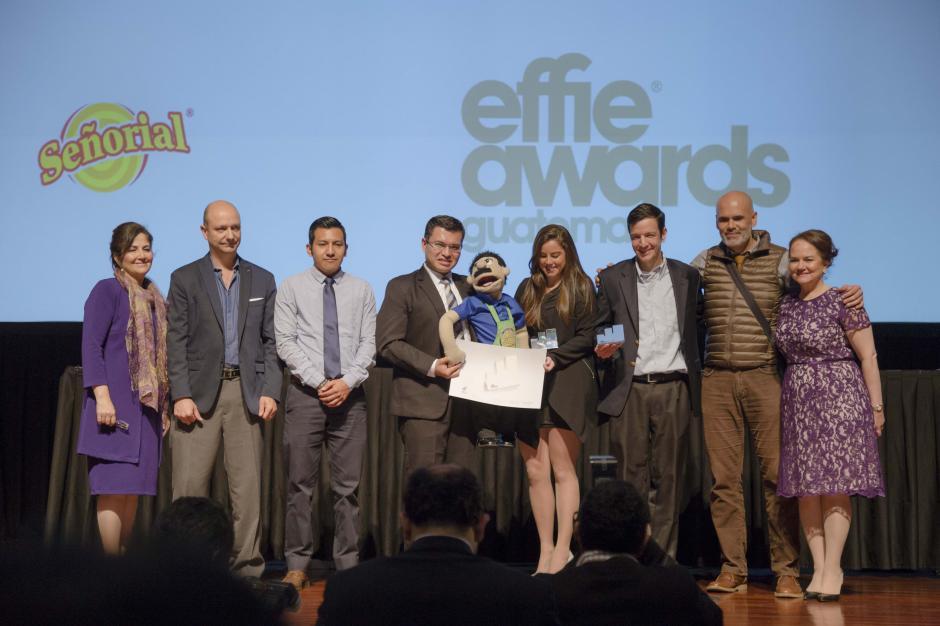 Señorial y Los Publicistas ganaron plata en la categoría Productos. (Foto: George Rojas/Soy502)